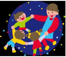 幼稚園バザー開催